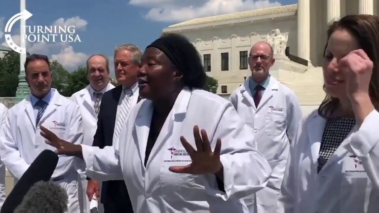 US-Based Nigerian Doctor Points Fault Fingers At Colleagues And Scientists, Insists Hydroxychloroquine Cures Covid-19 (Video), Conquest Online Magazine