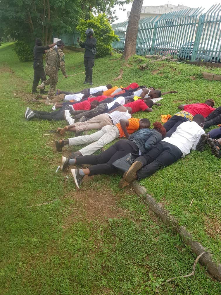 See How Police And Army Dehumanized RevolutionNow Protesters In Abuja (Photos), Conquest Online Magazine