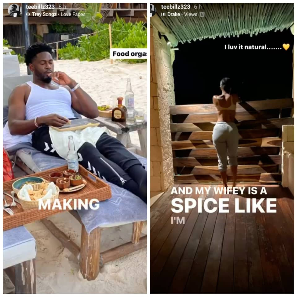 Tiwa Savage's EX Lover, Teebillz Goes On A Date With Unknown Lady (Video), Conquest Online Magazine