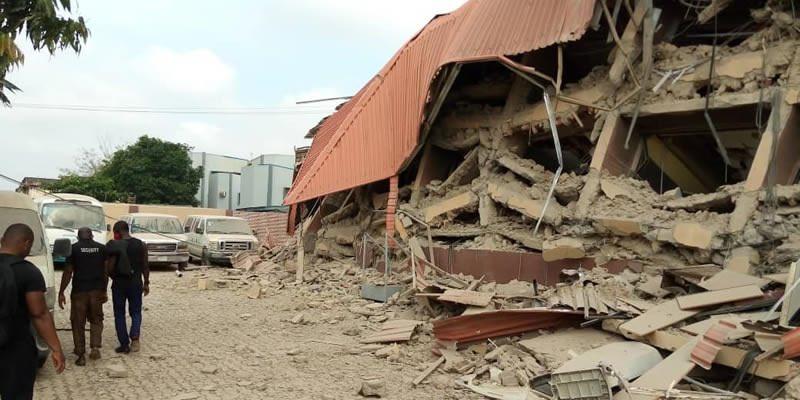 School Building Collapses In Lagos [Photos], Conquest Online Magazine