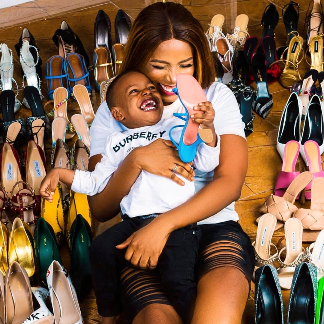 World-Class Blogger, Linda Ikeji Buys 2020 Range Rover, Parades Designer Shoes And Bags As She Turns 40 {Photos}, Conquest Online Magazine