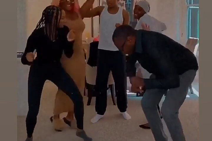 Femi Otedola In The News Again! Dances With His Children At Home While Having A Funday (Video), Conquest Online Magazine