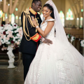 Deola Smart who walked down the aisle with her, Conquest Online Magazine