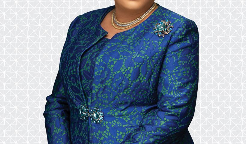 The new Managing Director/CEO of Fidelity Bank Plc Mrs. Nneka Onyeali-Ikpe whose tenure formally commenced on January