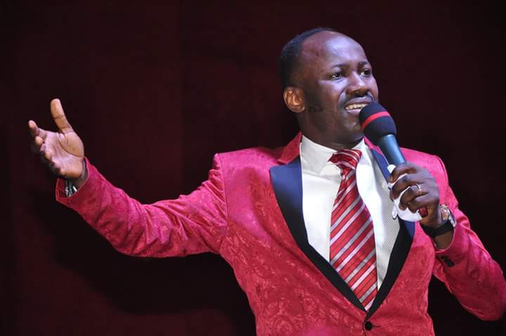 Nigerians are reacting on Twitter after Apostle Suleman revealed that he bought, Conquest Online Magazine