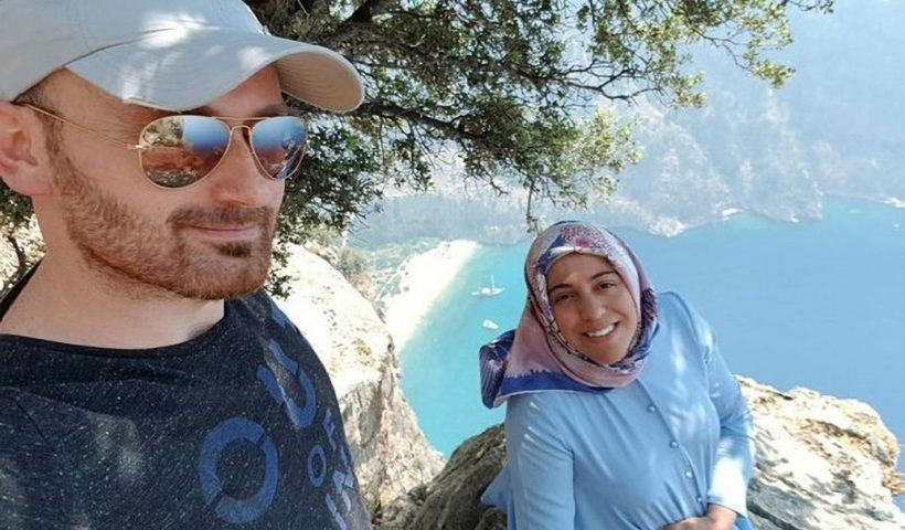 A Turkish man has been arrested for allegedly killing his pregnant wife by throwing her off a cliff after posing, Conquest Online Magazine