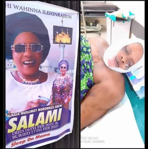 A 66-year-old woman Alhaja Muslimot Morenikeji Salami who was reportedly attacked by some suspected Fulani herdsmen Conquest Online Magazine