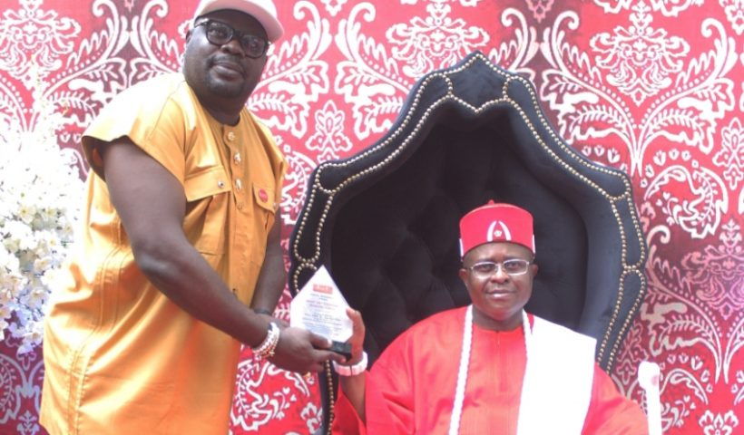 HRM King Appolus Chu is a promotional of peace and unity both in Nigeria and in Africa he described religious leaders Conquest Online Magazine