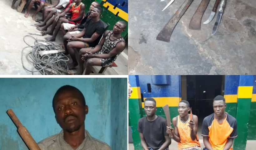 The police in a Lagos state have apprehended several traffic robbers terrorizing commuters, Conquest Online Magazine