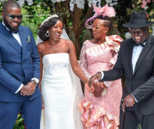 Vice President of Kenya, William Ruto's daughter got married to a Nigerian man