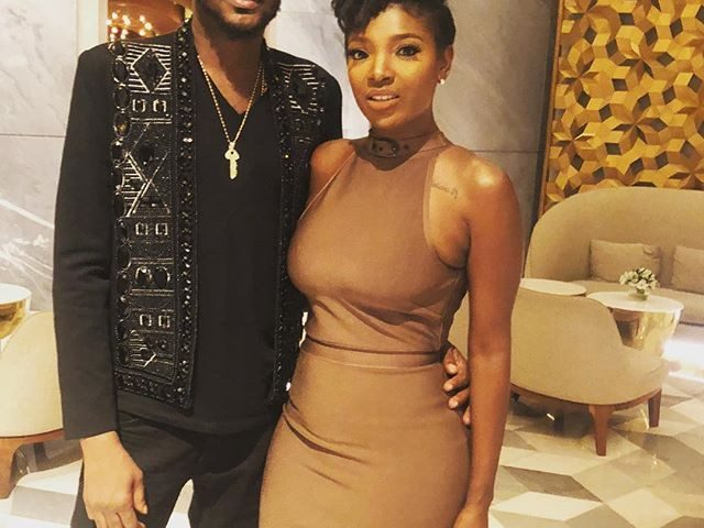ActressAnnie Idibia was spotted in the comment section of her husband, Tuface's first Instagram, Conquest Online Magazine